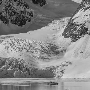 Samarinvågen, Hornsund, Spitsbergen
