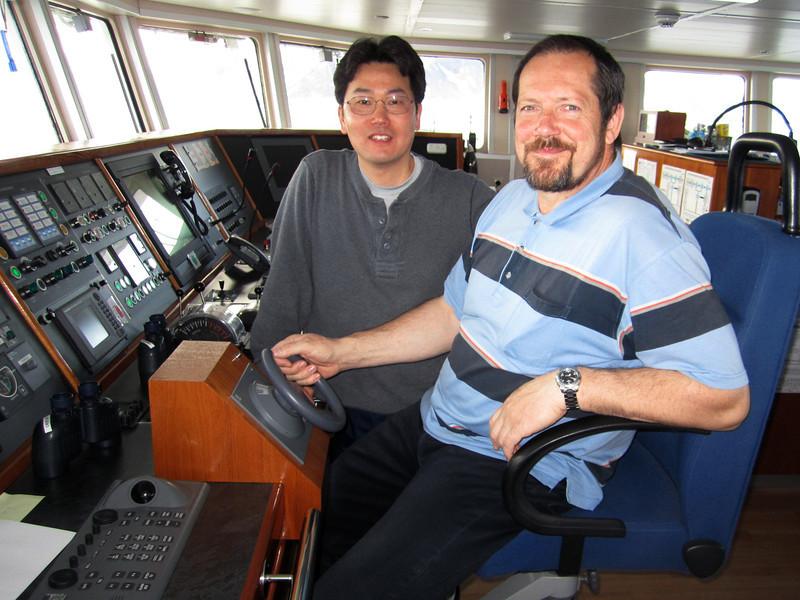 Kevin and Captain Captain Evgeny Levakov (Russian)