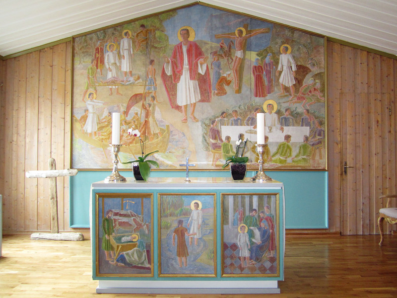 Lutheran Church pulpit