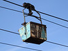 Cable car for transporting coal