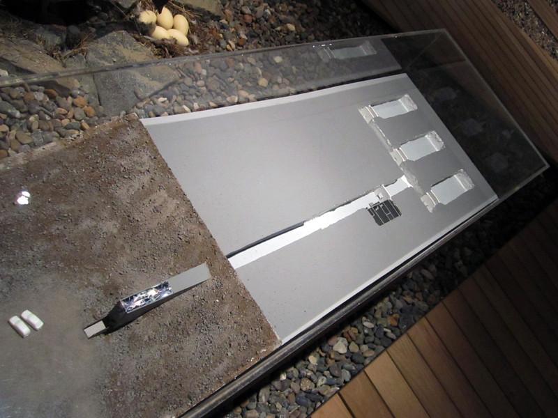 Model of the Svalbard Seed Vault