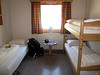 Spitsbergen Guesthouse room, spartan but clean.