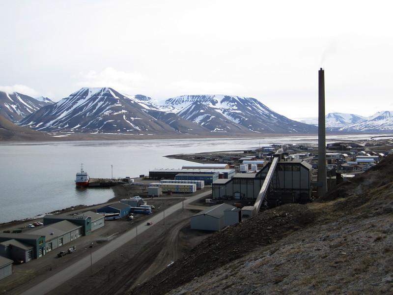 Isfjorden<br /> Longyearbyen, Svalbard