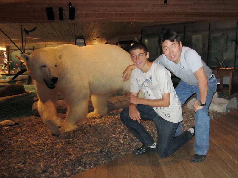 Evan and Kevin<br /> Svalbard Museum