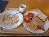 Breakfast at Spitsbergen Guesthouse