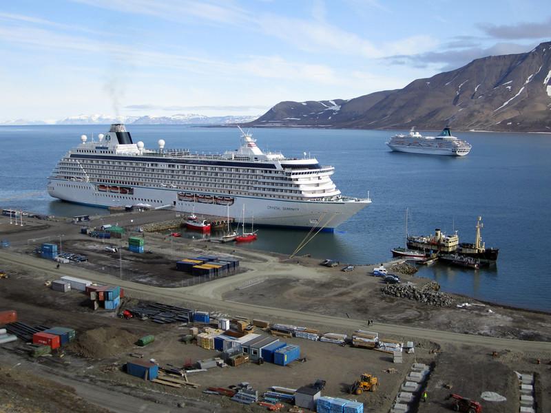 Longyearbyen port<br /> Isfjorden<br /> Longyearbyen, Svalbard
