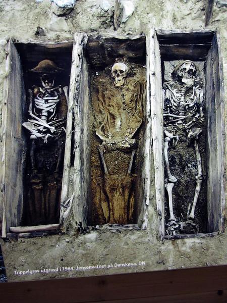 Burial graves in Svalbard