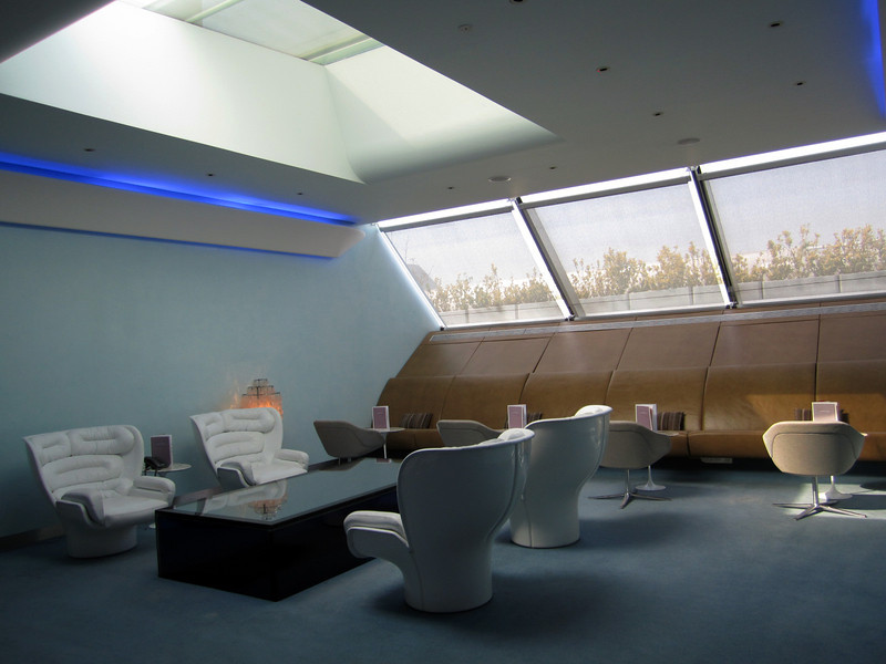 Virgin Atlantic, flagship VIP lounge, sun room
