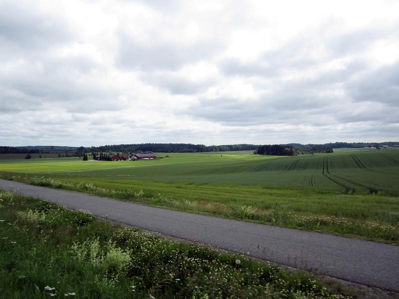 Countryside near Drobak, Norway