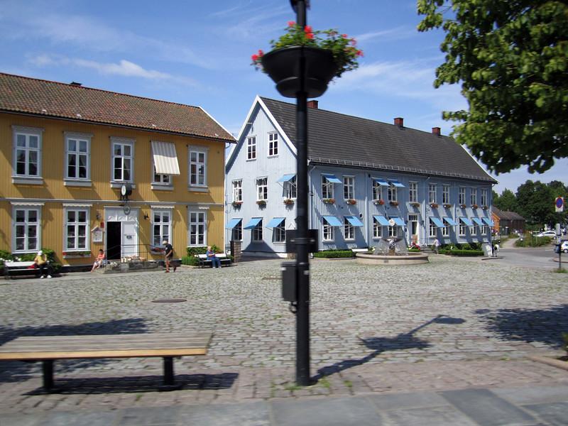 Village center, Drøbak, Norway
