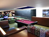 Virgin Atlantic, flagship VIP lounge. Candy or billiards anyone?