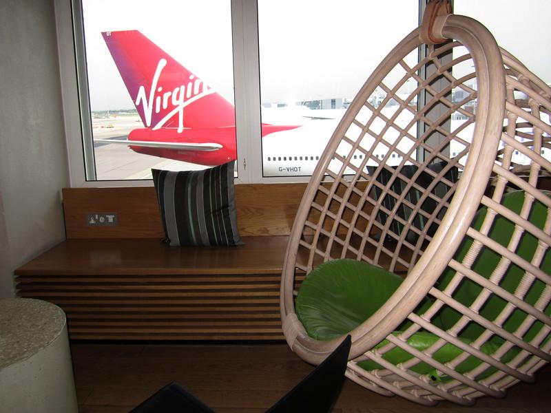 Virgin Atlantic, flagship VIP lounge.