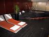 Virgin Atlantic, flagship VIP lounge, Sauna and hot tub facilities.
