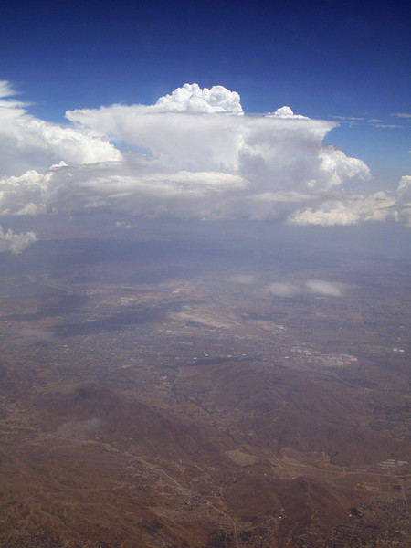 Southern California, approaching Los Angeles International Airport