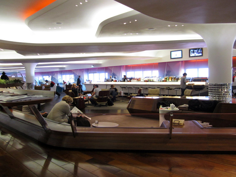 Virgin Atlantic, flagship VIP lounge.