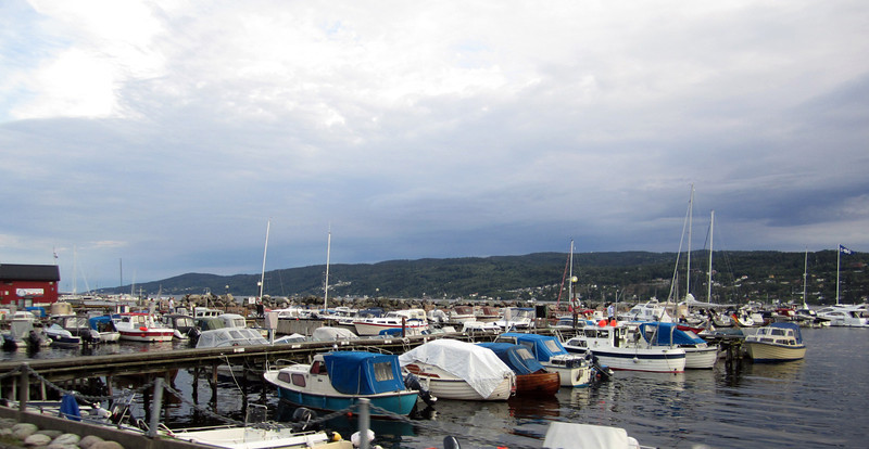Main marina, Drøbak, Norway