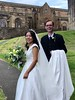 Chinese-Scottish newlyweds, Linlithgow Palace.