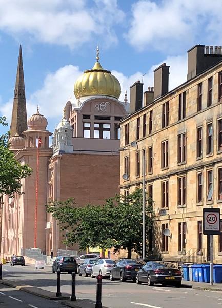 Sikh Temple<br /> Glasgow, Scotland.