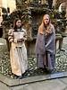 Tour guides<br /> Linlithgow Palace, Linlithgow, Scotland.