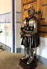 Suit of armor<br /> Stirling Castle<br /> Scotland