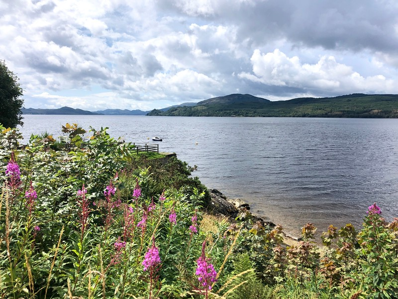 Strachur, Loch Fyne, Argyll, Scotland<br /> This is the longest loch in Scotland.