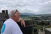 Jim looking south<br /> Stirling Castle<br /> Scotland