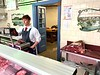 TD Anderson butcher shop, founded in 1897.<br /> Linlithgow, Scotland
