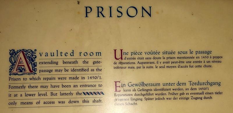 Palace prison