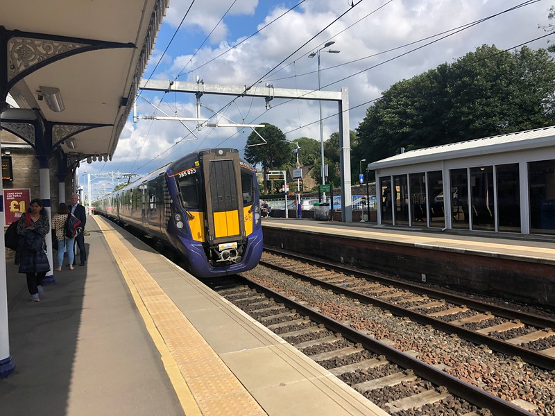Linlithgow Station, Scotland
