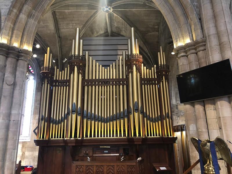 Pipe Organ, St. Michael's Church<br /> Linlinthgow, Scotland