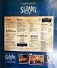 Sloan's Pub menue<br /> Glasgow, Scotland.
