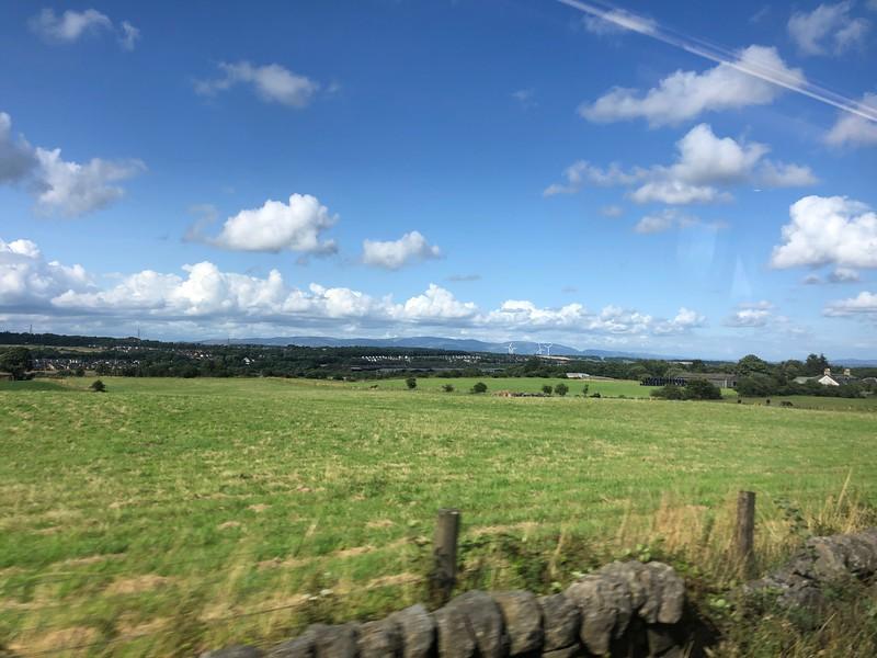 Enroute, Glasgow to Linlithgow, Scotland