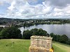 Easterly view from Linlithgow Palace, Linlithgow, Scotland.