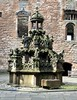King's fountain, Linlithgow Palace, Linlithgow, Scotland.