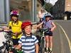 Family bicycle excursion from Glasgow to Edinburgh