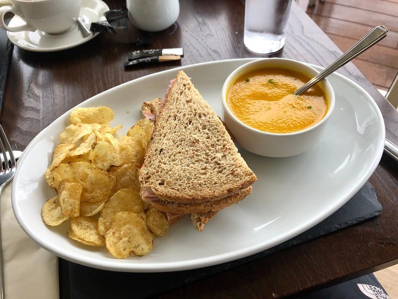 Dive #6, Kentallen, lunch at Holly Tree Hotel.<br /> Loch Linnhe, Scotland