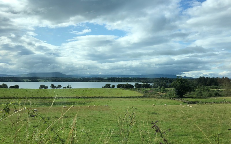 """Lake of Monteith, the only """"lake"""" in Scotland."""