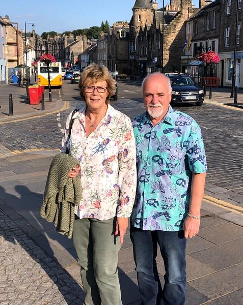 Lesley & Jim Anderson<br /> Linlithgow, Scotland