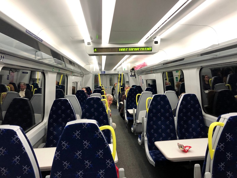 Train to Glasgow from Linlithgow