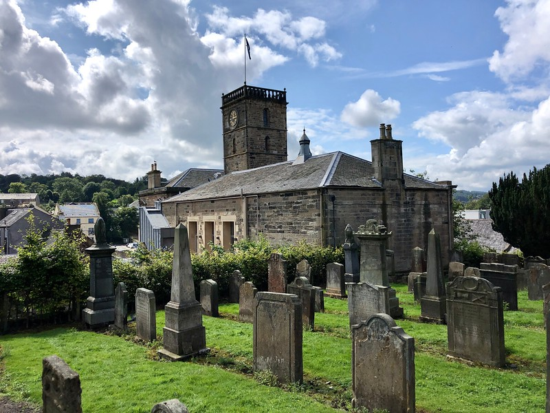 St. Michael's Church cemetery<br /> Linlinthgow, Scotland