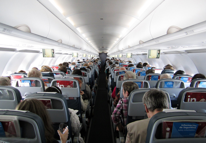Charter flight from SCL via Punta Arenas to Mt. Pleasant, East Falkland.