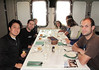 Lunch hour with the gang.<br /> Aboard the Plancius, South Georgia Island<br /> Photo by Lilian Y.