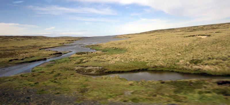 Landscape<br /> East Falkland Island.