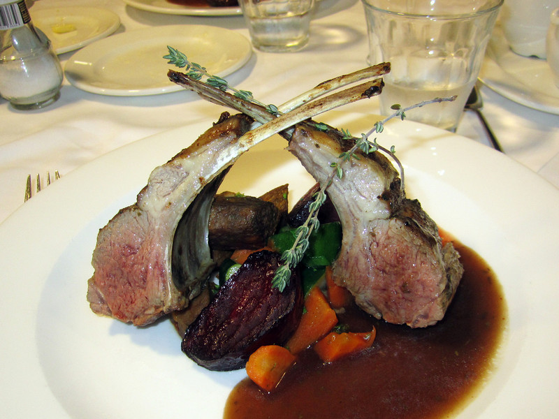 Absolutely the best roast rack of mutton I ever tasted.<br /> Aboard the Plancius, South Georgia Island
