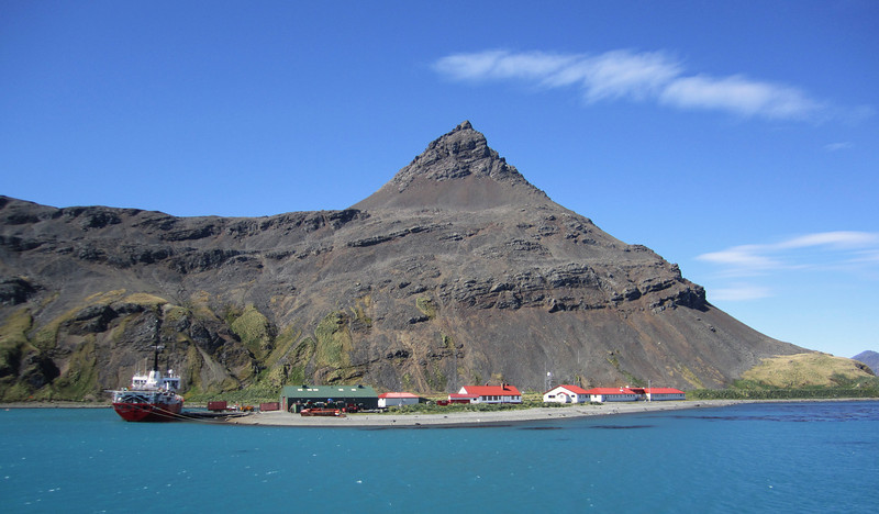 British Science Research Post.<br /> Grytviken, South Georgia Island.
