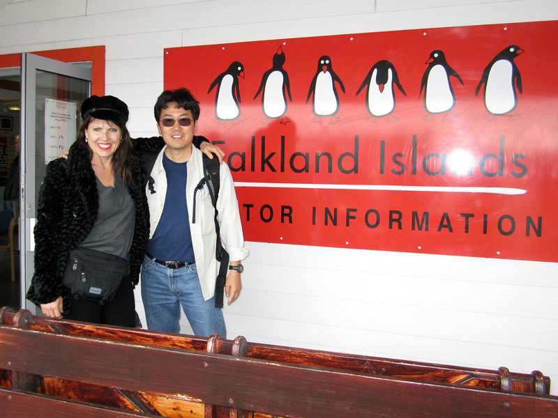 Susie & Kevin<br /> Stanley, East Falkland Island