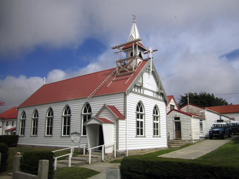 Church<br /> Port Stanley, East Falkland Island.