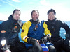L-R: Diving Trio - Tim Beard, Jeff Bozanic & Kevin Lee<br /> South Georgia Island<br /> Photo by Kelvin M.