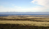 Landscape, with wind generators.<br /> East Falkland Island.