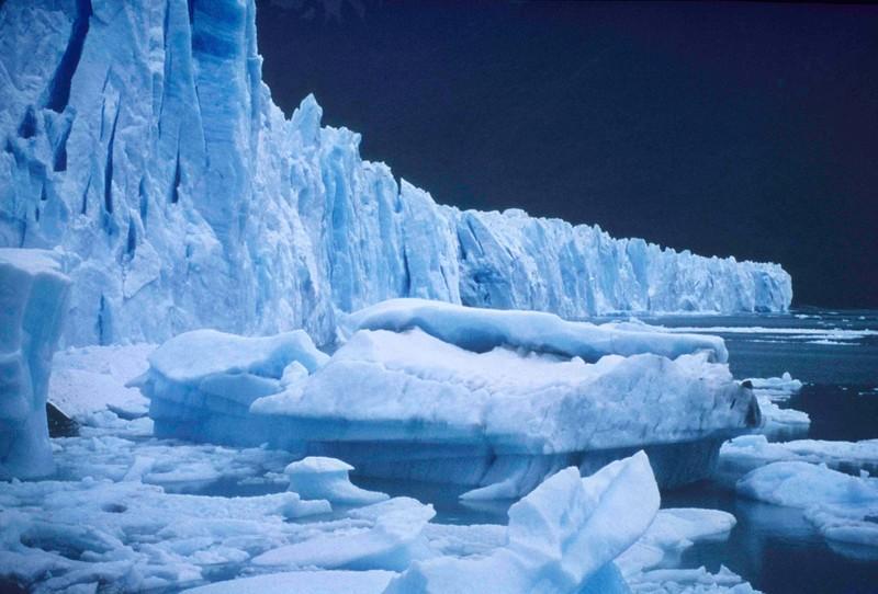 Glacier PeritioMoreno, Patagonie, Argentine